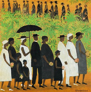 """Funeral Procession"" by Ellis Wilson"
