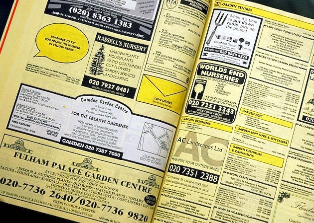 Yellow Pages?!