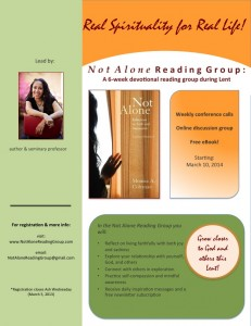 Not Alone Online Reading Group