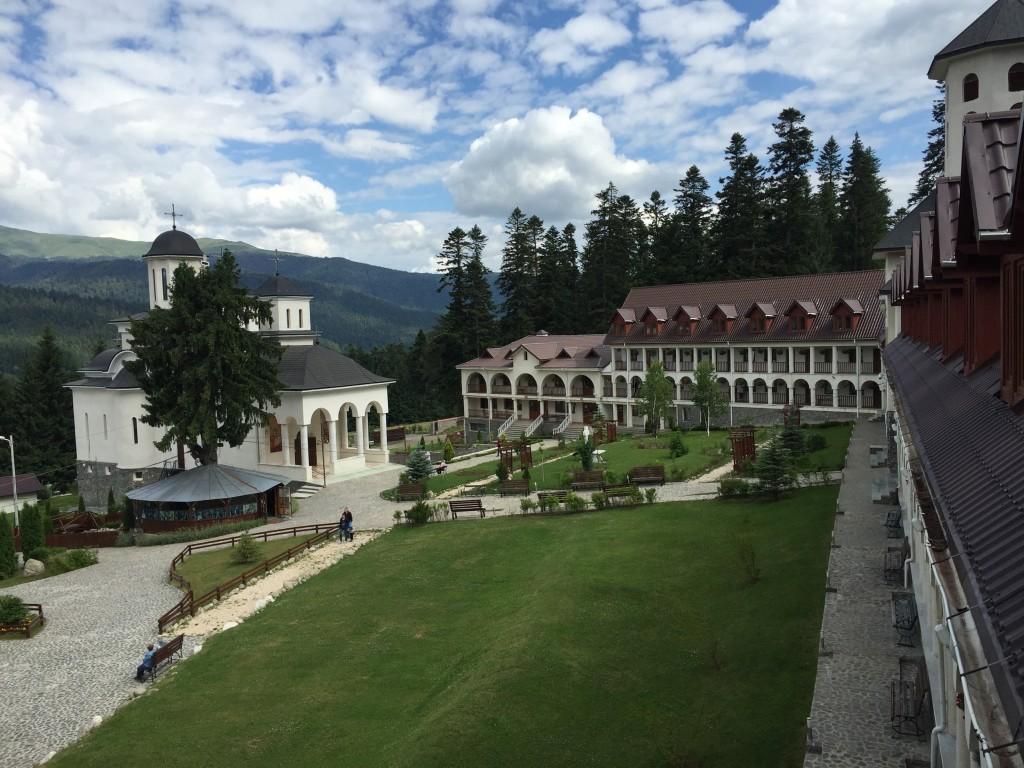 Monastery Caraiman